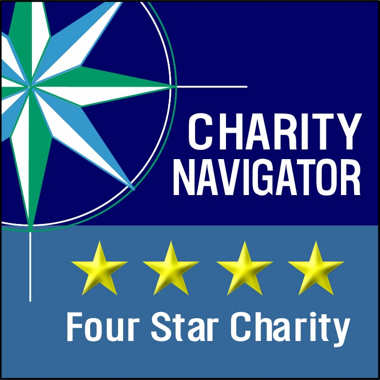 "Charity Navigator ""Four Star Charity"" logo"